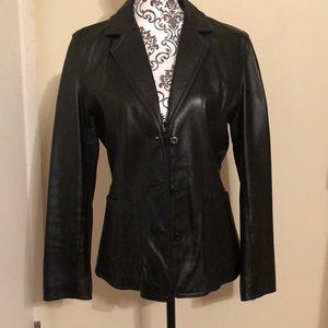 Wilson's leather blazer in excellent condition M